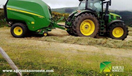 Agricola Noroeste entrega John Deere  6250R + V451R a Manuel Garcia