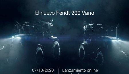 El nuevo Fendt 200 Vario: El 7 de octubre saldré a la luz.