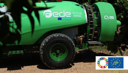 El Smartomizer H3O® de Pulverizadores Fede como caso de éxito de producción sostenible de los Objetivos de Desarrollo Sostenible de la ONU