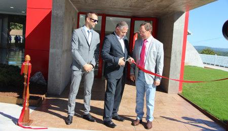 Inauguración nuevas instalaciones de Ausama en Silleda (Pontevedra)