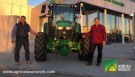 Agrícola Noroeste Entrega john Deere 5100R