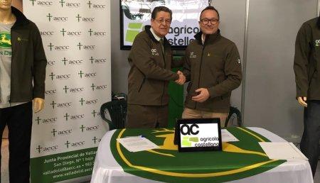 Agricola Castellana firma un acuerdo de colaboración con la ASOCIACIÓN ESPAÑOLA CONTRA EL CÁNCER en virtud del cual se destinara una parte del importe de cada cazadora vendida