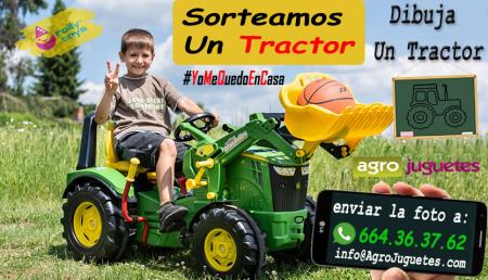 AgroJuguetes Sorteará un Tractor #YoMeQuedoEnCasa