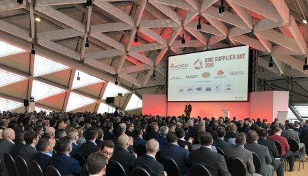 AGCO rinde homenaje a sus principales proveedores durante el Día de proveedores EME 2019 en Budapest