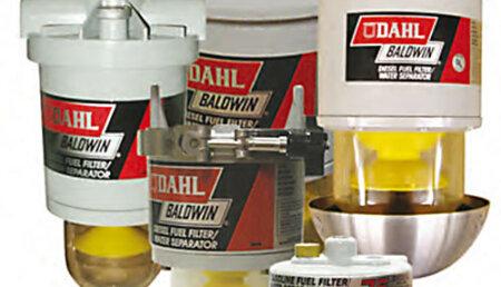 Filtros de combustible diésel / separadores de agua DAHL