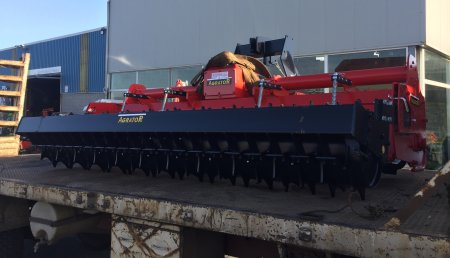Agrícolas Mata entrega AGRATOR en Santa Comba.