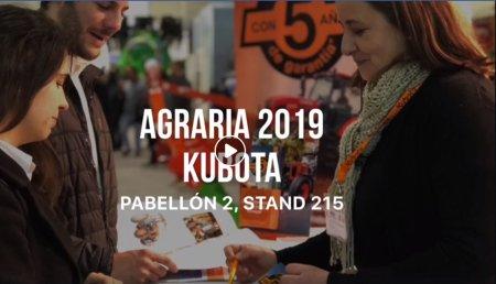 Kubota en Agraria 2019