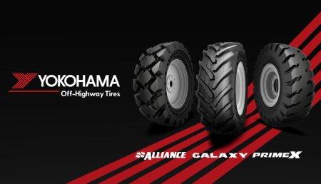 Se desvela la nueva identidad de la entidad conjunta que forman Yokohama OTR y Alliance Tire Group: «Yokohama Off-Highway Tires».