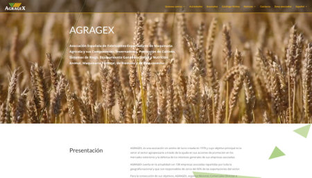 Agragex actualiza su imagen digital y página web