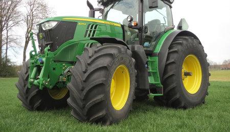Los neumáticos Vredestein ya están disponibles en los nuevos tractores John Deere