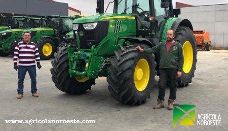 Agricola Noroeste entrega John Deere 6195M a Juanma