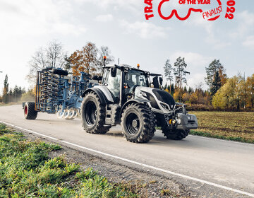 Nominados a Tractor of the Year 2022