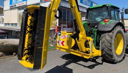 Hitraf Entrega Desbrozadora Lateral GL1 Komfort 6000 para el ayuntamiento de Barro