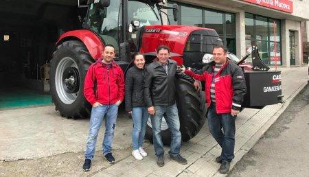 Agricola Matova entrega  a Ganadería Casa Villeriño de Gosolfe su Puma 175 CVX