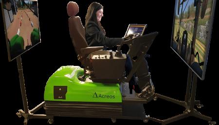 La transformación tecnológica de la formación de operarios de tractores por medio de la simulación