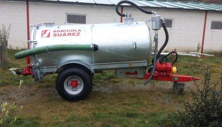 Agrícola Suárez entrega Cisterna de 3.000 Litros Galagri