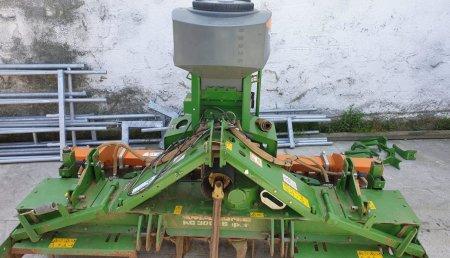 Millares Torron entrega a SAT PAZO DE EIRAS DE POL esta grada rotativa Amazone KG Super con sembradora electrica Amazone