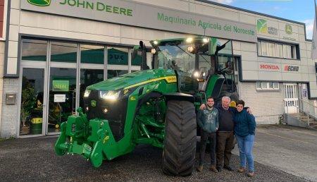 Agrícola Noroeste entrega John Deere 8R - 280 a Servicios Agricola Bermudez