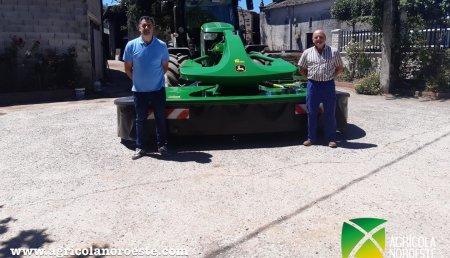Agrícola Noroeste entrega John Deere  F310R a Pacio San Antolin