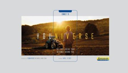 New Holland Agriculture ampliará la feria digital YOUNIVERSE una semana más