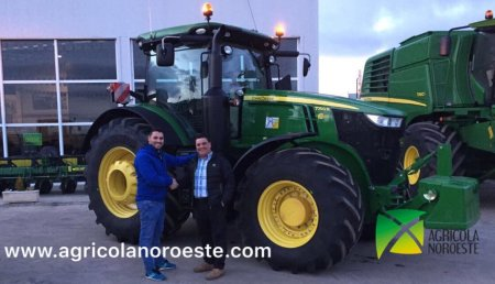 Agricola Noroeste Entrega John Deere 7250R