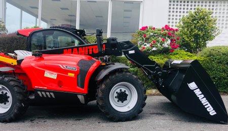 Cardelle Hidráulica entrega MANITOU MLT630-105 en una empresa ganadera en Santa Comba (A Coruña).