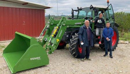 Agrícola Patricio entrega Fendt 209S Gen3  a Vanesa a Sinue