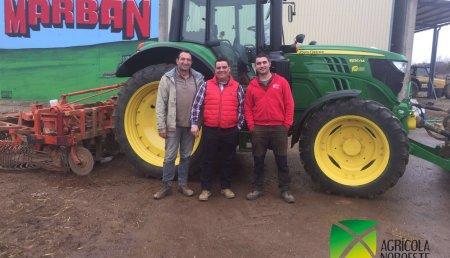 Agricola Noroeste Entrega un John Deere 6130M a Marban Ruano de Leon