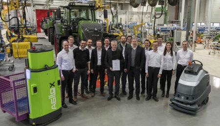 Fendt es galardonado como líder en la industria 4.0 en el Foro Económico Mundial