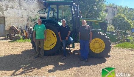 Agrícola Noroeste entrega John Deere 6115MC a FERNANDO