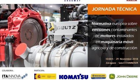 Entrada en vigor de la nueva fase V de emisiones para los motores de máquinas móviles no de carretera