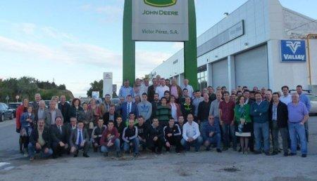 La empresa Víctor Pérez Agrícola, S.L. cumple su 40 aniversario como Concesionario Oficial John Deere
