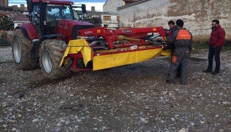 Segadoras suspendidas FELLA que entregamos hace unas semanas en Artajona (Navarra).