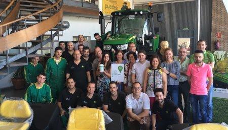 Agricola Castellana colabora con el día de la cuestación (AECC Valladolid)   para luchar contra el cancer.