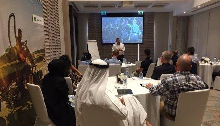 John Deere y CMAE organizan un Workshop de comunicación en Oriente Medio