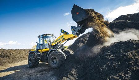 New Holland Agriculture actualiza sus cargadoras de ruedas serie D con funciones avanzadas y ofrece importantes ahorros del TCO