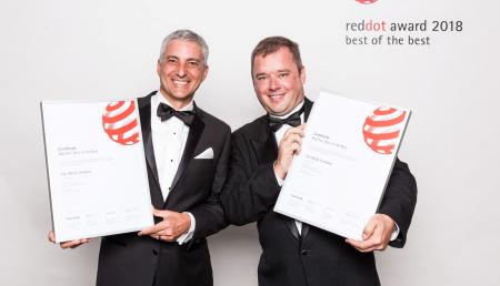 El innovador diseño de la cosechadora IDEAL de Massey Ferguson recibe el premio Red Dot en una ceremonia en Alemania