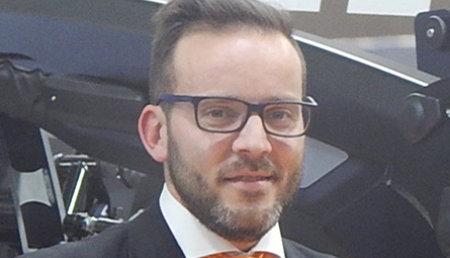 Alfonso Egea, Area Sales Manager MF