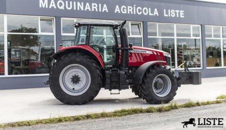 Maquinaria Liste entrega Massey Ferguson 7726 y 7724 para Servicios Agrícolas y Forestales Avelino, Boimorto, A Coruña