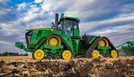 Nuevos tractores John Deere serie 9 Más resistentes e inteligentes