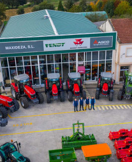 Maxideza entrega nueve tractores en las provincias de Lugo, A Coruña y Pontevedra