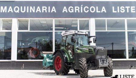 Maquinaria Agrícola Liste ha entregado a José Marcelino García el nuevo tractor Fendt 210 P en Cerdido, A Coruña.