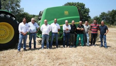 Demostracion de Maquinaria Agricola Noroeste 2016