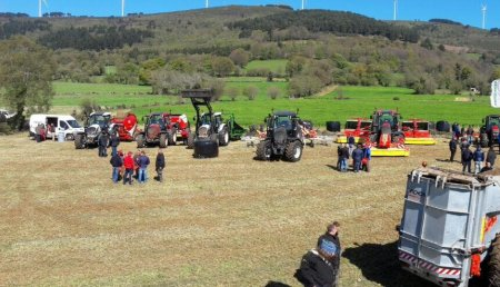 Ruta Valtra 2017 en Agricola Patricio (Tineo- Asturias)