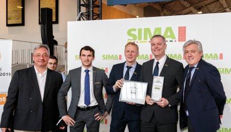 New Holland obtiene el premio a la «Máquina del Año» en SIMA 2019 por su tecnología IntelliSense™ y el T5 AutoCommand™