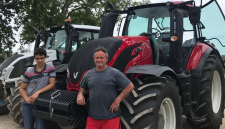 Agricola Patricio entrega Valtra T154H a ganadería La Revilla SC