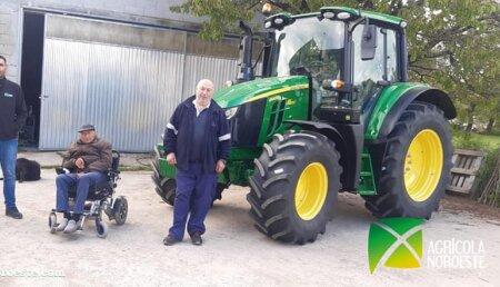 Agricola Noroeste entrega John Deere 6120M a Marta
