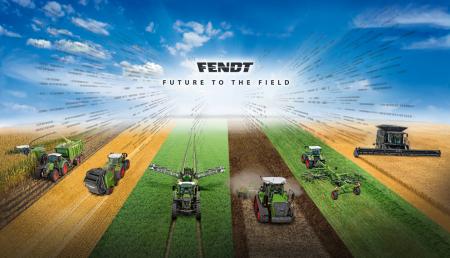 Fendt lleva el futuro al campo. Día de campo SAATEN-UNION 2018