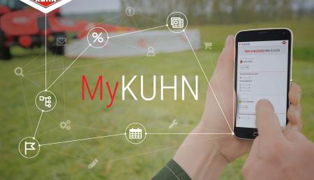 MyKUHN: la web que permite al cliente de Kuhn pedir recambios sin salir de casa