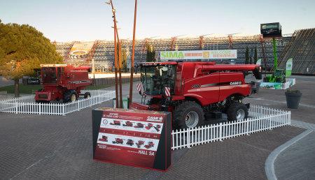 Vuelve a SIMA la primera cosechadora Axial-Flow cuatro décadas después de su debut